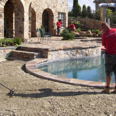 Hardscaping Installation