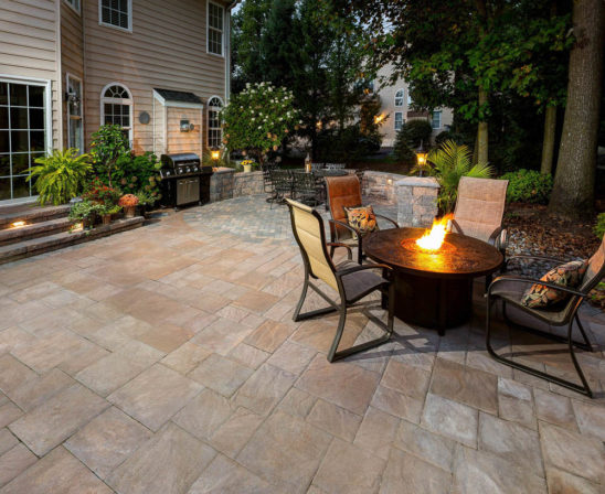 ep henry bristol stone pavers in harvest blend