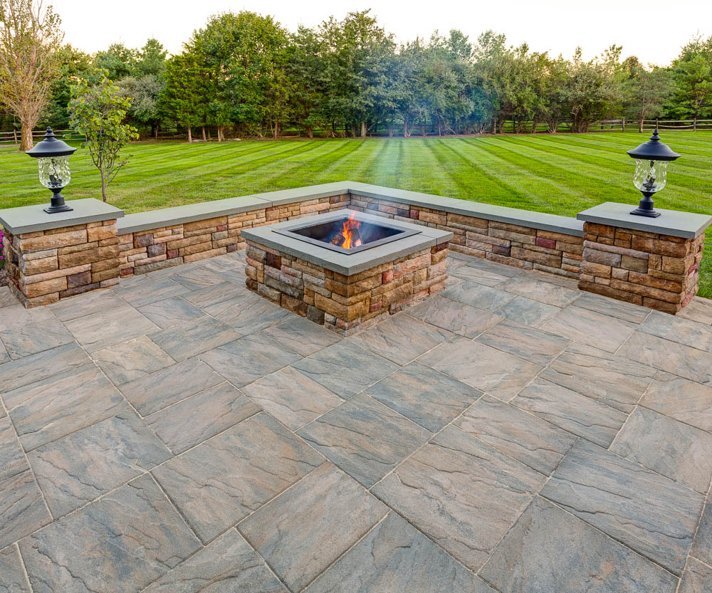 Stone Slate For Backyard patio pavers and retaining walls for lancaster, harrisburg and york, pa