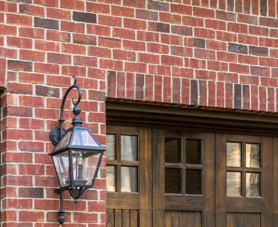 glen gery's rustic burgundy brick