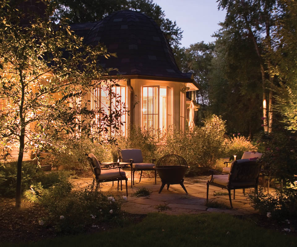 ambient cast lighting for landscaping