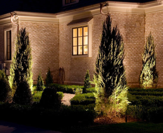 cast lighting for illuminating your landscaping