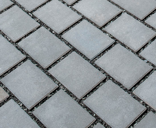 EP Henry's eco paver in pewter finish