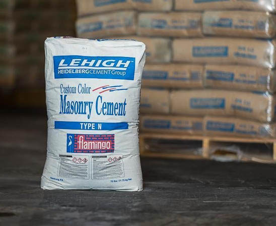 lehigh colored masonry cement by heidelbery cement group