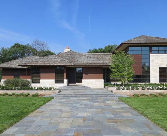 Meshoppen PA natural bluestone, flagstone front walkway