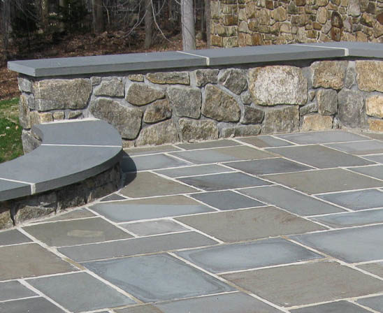 flagstone pennsylvania bluestone from meshoppen stone, natural cleft