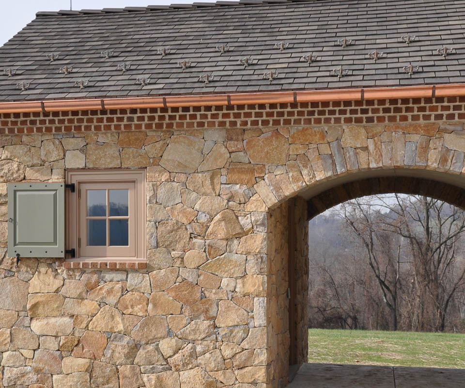 rolling rock natural stone veneer brookfield buff finish