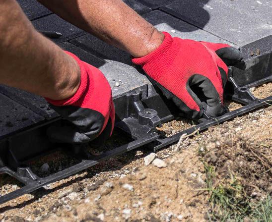 snap edge paver edge restraint