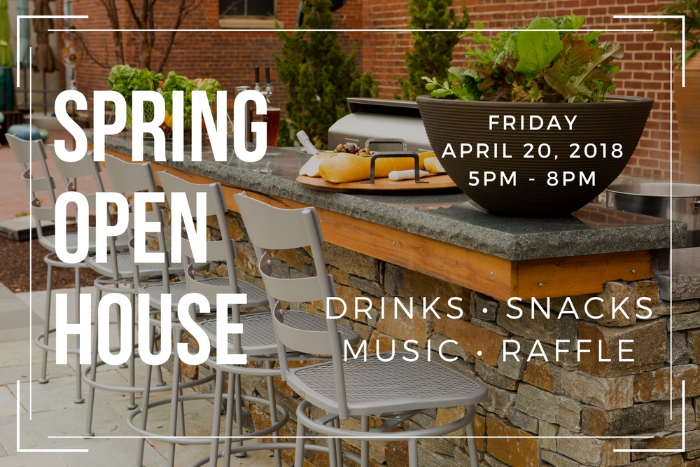 penn stone spring open house april 20 from 5pm to 8pm