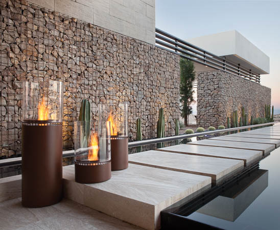 eco smart lighthouse outdoor fire elements