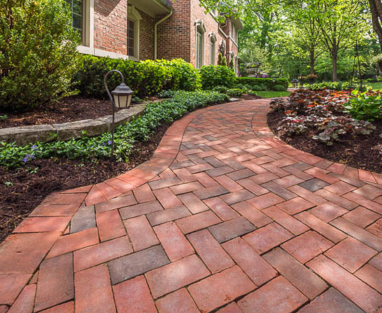 glen-gery 53-dd brick paver walkway