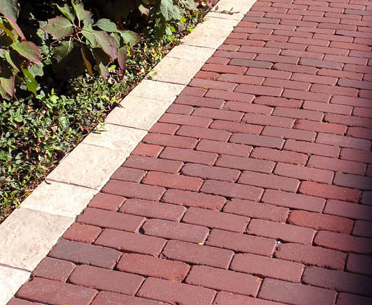 whitacre greer 30 series cobbled brick pavers