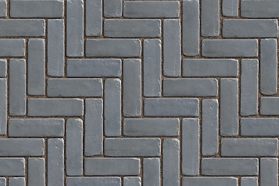 copthorne steel blue patio paver is a brick-look paver from unilock's elegance series