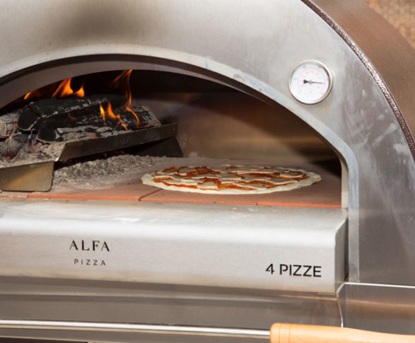 alfa ovens wood fired pizza oven 4 pizze