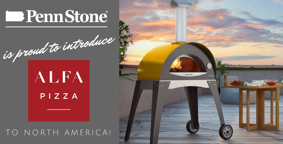 alfa pizza ovens named penn stone the first dealer in north america