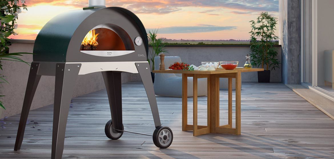 alfa ovens ciao portable wood-fired pizza oven