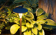 Cast Lighting path light (small China hat)