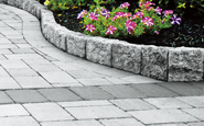 ep henry coventry curbstone concrete edging stone in pewter blend color