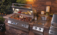 fire magic grills aurora a660 with side burner