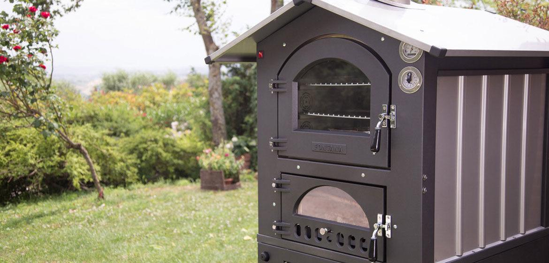 fontana forni gusto 80 dual chamber pizza oven