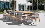 gloster sway outdoor dining furniture