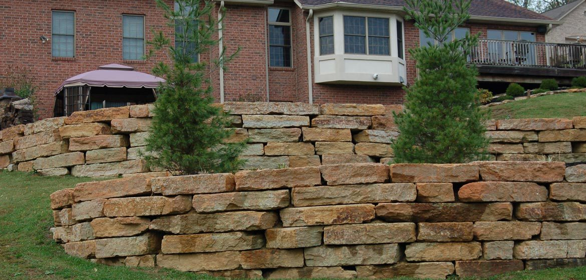ohio stone rustic buff outcropping boulders