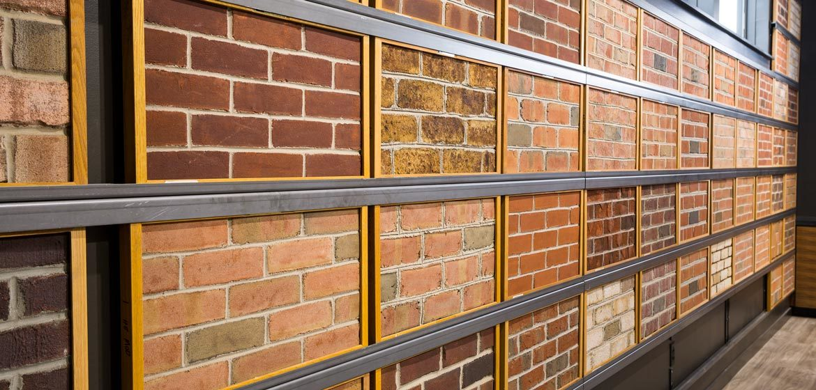 penn stone showroom face brick and thin brick selections