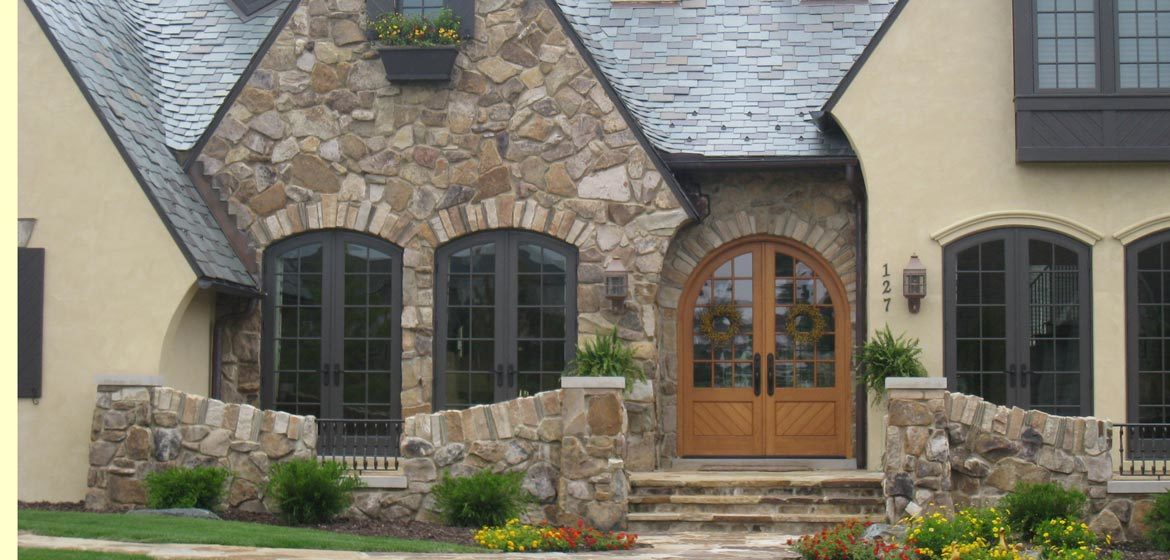 rolling rock building stone huntington gray natural thin stone veneer
