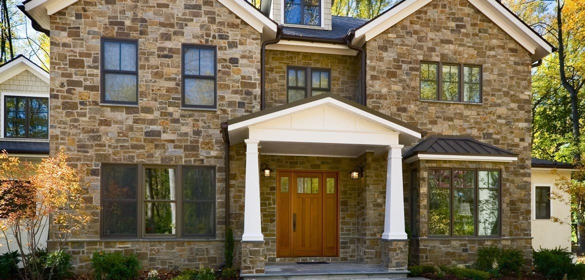 rolling rock building stone russet brown wissahickon schist natural thin stone veneer