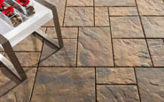 unilock beacon hill flagstone coffee creek concrete patio paver
