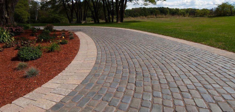 unilock courtstone concrete paver drivewa