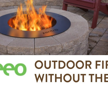 breeo smoke-less fire pits are penn stone's featured hardscaping product for september 2018