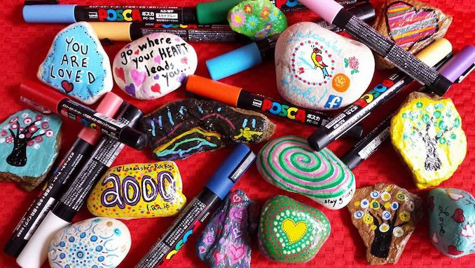 rock painting for kids on thursday december 27