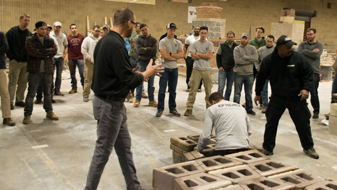 on february 14 penn stone will host a seminar on ep henry's cast stone wall