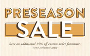 save on select brands of outdoor furniture during penn stone's preseason sale