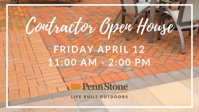penn stone will host a contractor open house on friday april 12