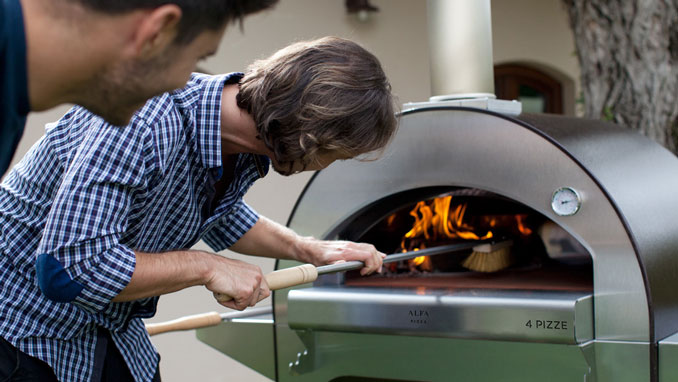 penn stone will host an alfa oven wood-fired pizza demonstration on july 25