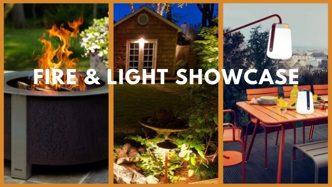 penn stone hosts a fire and light showcase on october 11 featuring fire pits, outdoor fireplaces, landscape lighting and outdoor lanterns
