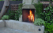 outdoor rumford fireplace by superior clay