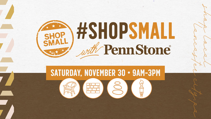 shop at penn stone on small business saturday november 30