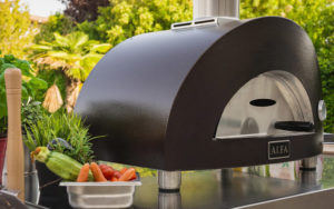 the alfa one portable pizza oven is now in stock at penn stone