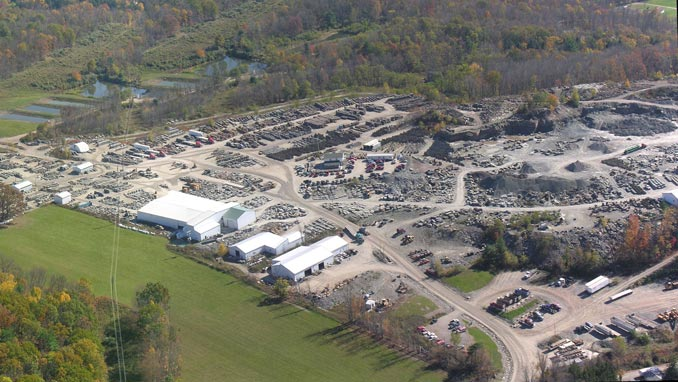 penn stone hosts a meshoppen stone quarry tour