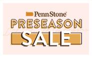 save 15% during penn stone's preseason outdoor furniture sale