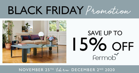 <php save up to 15% on Fermob outdoor furniture during their black friday promotion ?>